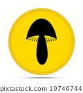 mushroom icon 19746744