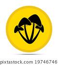 mushroom icon 19746746