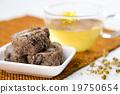 传统 茶 食物 19750654