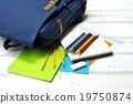 彩色鉛筆 橡皮 筆記本 19750874