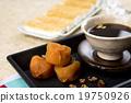柿餅 茶 照片 19750926