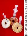 甜甜圈 肥胖 注射器 19751380