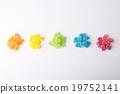 顏色 果凍 餅乾 19752141