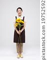 asian, flower, smile 19752592