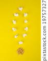 爆米花 符號 玉米 19757327