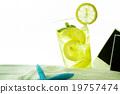 水 檸檬 飲料 19757474