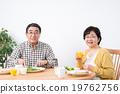 年長 夫婦 一對 19762756