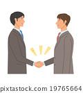 Handshake, handshake, handshaking 19765664