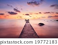 海 太阳 日落 19772183