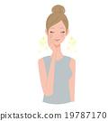 女性美的插圖 19787170