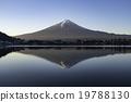 Mt Fuji and Kawaguchiko lake in Autumn 19788130