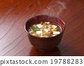 味增汤 滑菇 家常菜 19788283