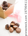 various chocolate pralines 19790411