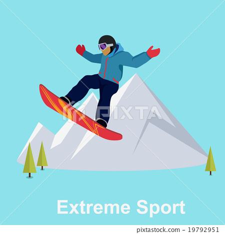 Extreme Sport Snowboard Design 19792951