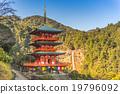 Seigantoji pagoda and Nachi falls in Wakayama 19796092