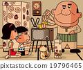 昭和 電視 媽媽 19796465
