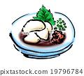 食物 食品 鱼白 19796784
