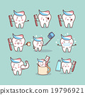 cute cartoon tooth brush concept 19796921