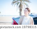驅動海灘女性 19798315