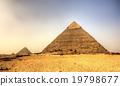 Pyramid of Khafre (Pyramid of Chephren) in Giza 19798677