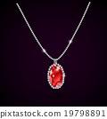 red, ruby, gemstone 19798891