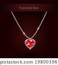 red, ruby, gemstone 19800396