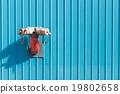 Red sprinkler pipe 19802658