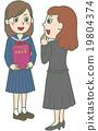 벡터, 졸업, 졸업식 19804374