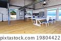 room, dining, dining-room 19804422