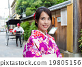 Japanese woman visit Kyoto 19805156