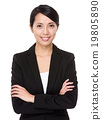 Asian businesswoman portrait 19805890