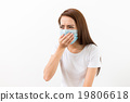 Young woman feeling unwell 19806618