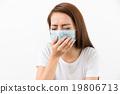 Sick woman 19806713