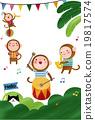猴子 動物 管弦樂隊 19817574