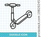 bike doodle 19820245