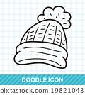 winter hat doodle 19821043