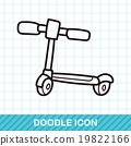 toy bike doodle 19822166