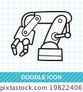 Backhoes doodle 19822406