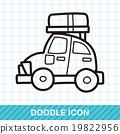 travel car color doodle 19822956