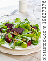 roasted Beetroot with Blue cheese salad 19827376
