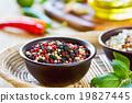 Colourful Pepper 19827445