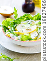 Pear with Blue cheese and Rocket salad 19827456