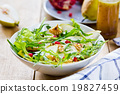 Pear with Pommegranate and Rocket salad 19827459