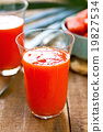 Papaya smoothie 19827534