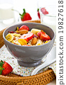 Muesli breakfast 19827618
