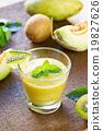 Melon with Kiwi smoothie 19827626