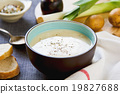 Leek and Potatoes soup 19827688