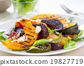 Grilled vegetables with feta cheese salad 19827719