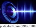 Loud sound 19828188