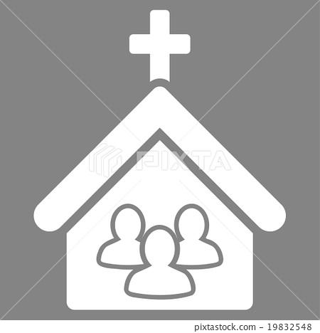 Church Vector Icon 19832548